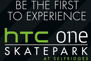 HTC caters for skaters with pop-up skatepark