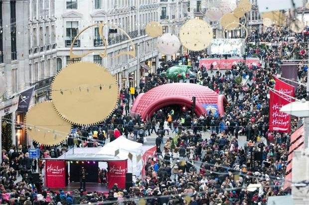 Hamley's Toy Parade: the first one was held in 2015