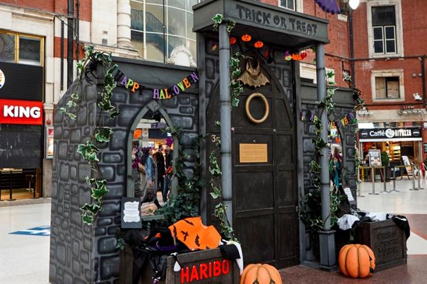Haribo's 'trick or treat door' visits Yorkshire this weekend