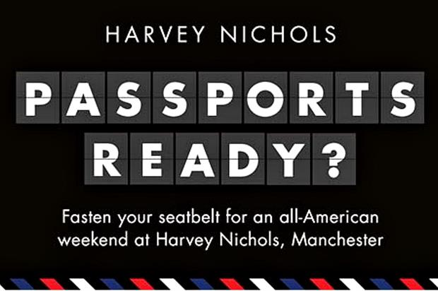 Harvey Nichols and American Airlines for USA-themed events