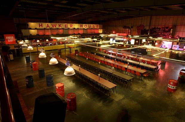 Both the Hawker House and Dinerama sites offer a range of spaces for hire