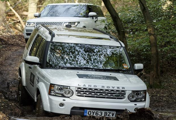 Land Rover experiences at Hedsor House
