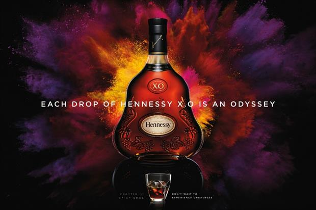 The experience aims to highlight the versatility of Hennessy X.O