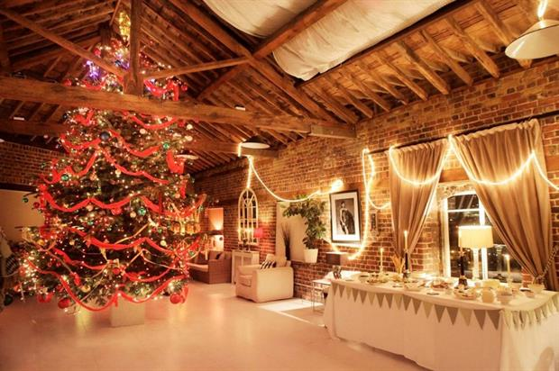 Hire Space has found that Christmas party bookings are on the rise this year