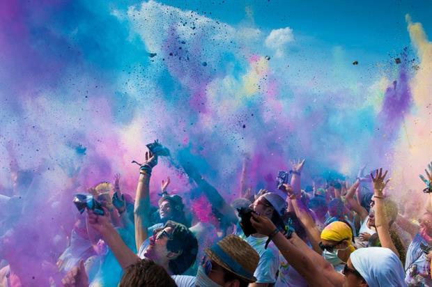 Holi Festival of Colours will visit London from 12-13 September