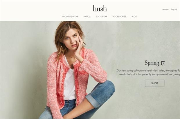 Hush to launch 'Pop in' store in Shoreditch
