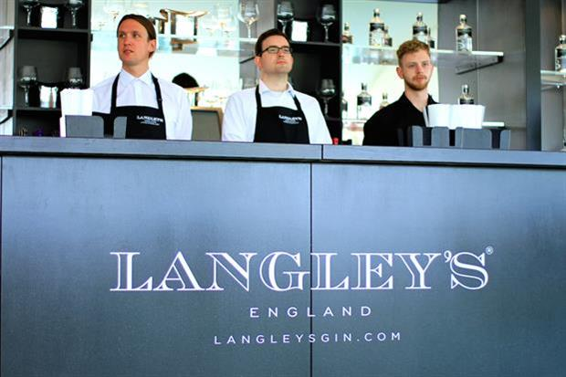 The gin brand's pop-up bar will feature at the Rolls-Royce event