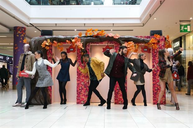 Intu: experiential fashion show