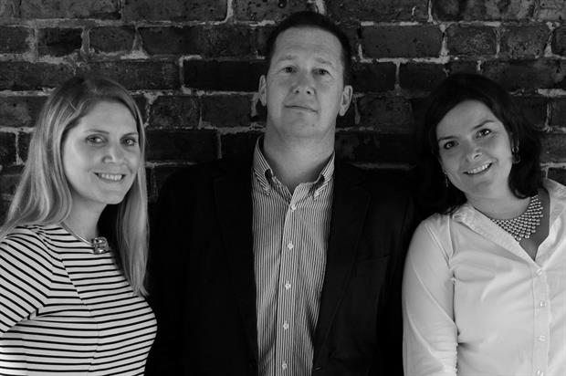 Infrared's senior management team: Natasha Davidson, Stephen Hall and Vivienne Brown
