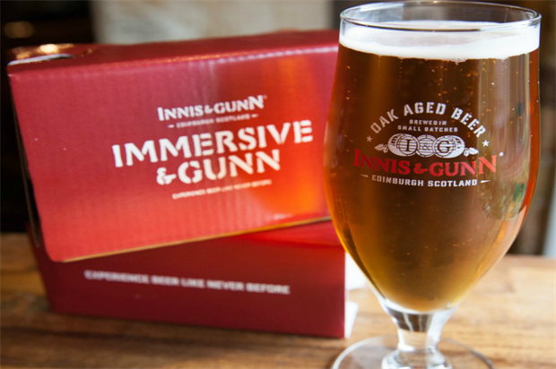 Innis & Gunn: immersive experience
