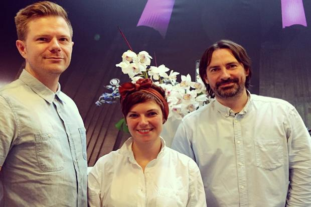 The new recruits join Innovision's creative services team
