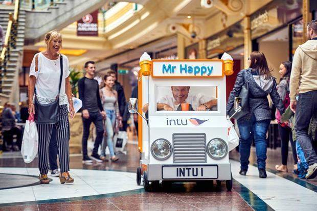 Event TV: Intu unveils world's smallest ice cream van
