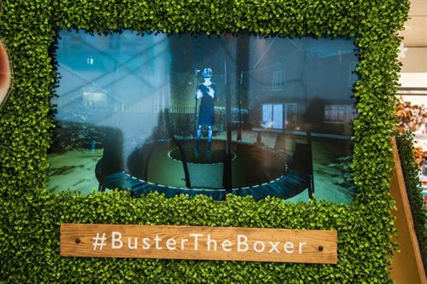 John Lewis: bringing Buster the Boxer to life