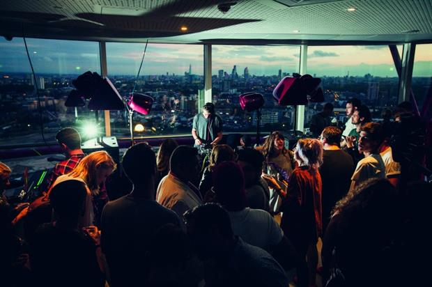 DJ Skream at the event in August (photo credit: Mixmag/Kevin Lake)