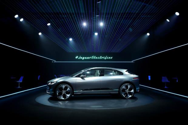 new car launches eventsBehind the scenes Jaguar unveils electric vehicle with VR experience