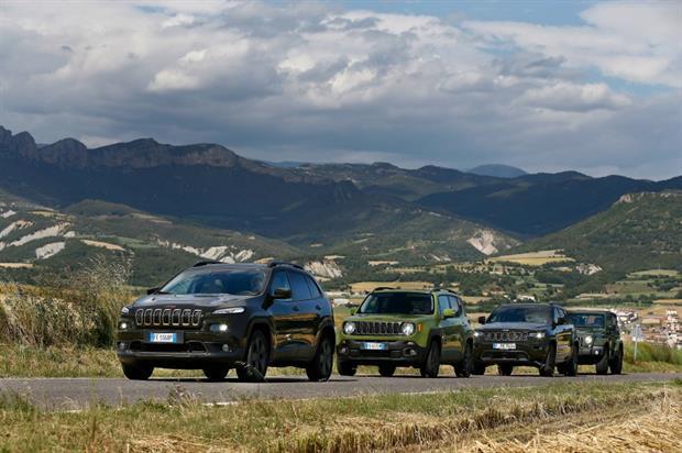 Jeep UK: activating at this year's Farnborough International Airshow
