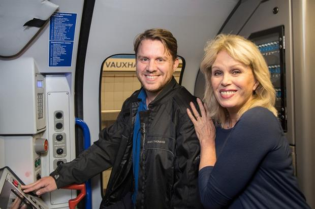 Lumley adds her voice to TfL's announcements