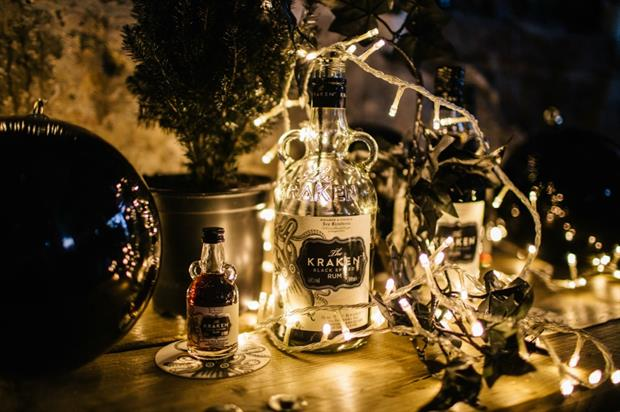Visitors will be able to purchase a selection of black Christmas decorations, with festive cocktails to drink