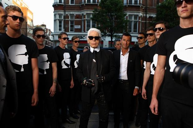 Harvey Lee Sutton worked with the likes of Karl Lagerfield during his time at Selfridges