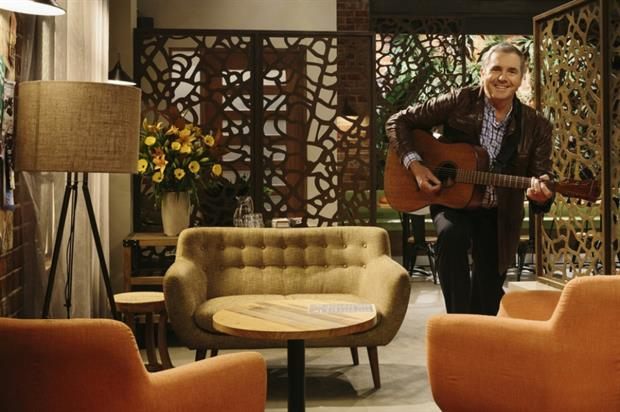 Karl Kennedy will host winners to dinner at the Neighbours set