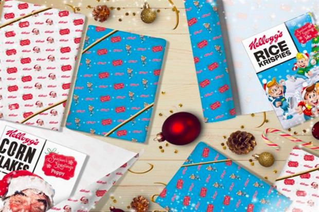 Kellogg's is offering Brits the chance to win a personalised cereal box (@KelloggsUK)