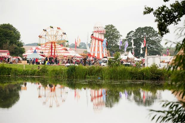Kelmarsh Hall has been home to festivals and fairs at its Northampton location
