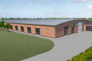 A visual of Kent Event Centre's new £1.5m event space