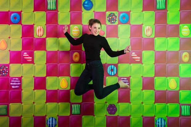Candy Crush to erect bouncy castle on London's South Bank