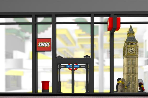 The new Lego store: a playful experience