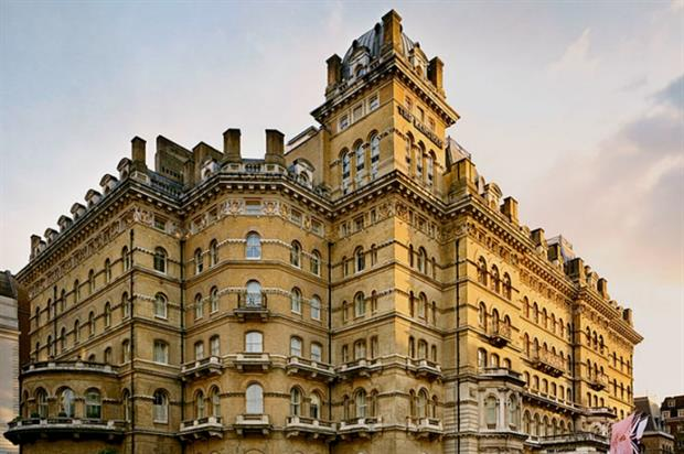 Langham Hotel in London is said to be one of the UK's most haunted venues