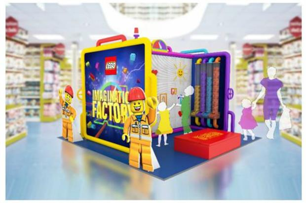 Lego's Imagination Factory is teaming up with Smyths Toys
