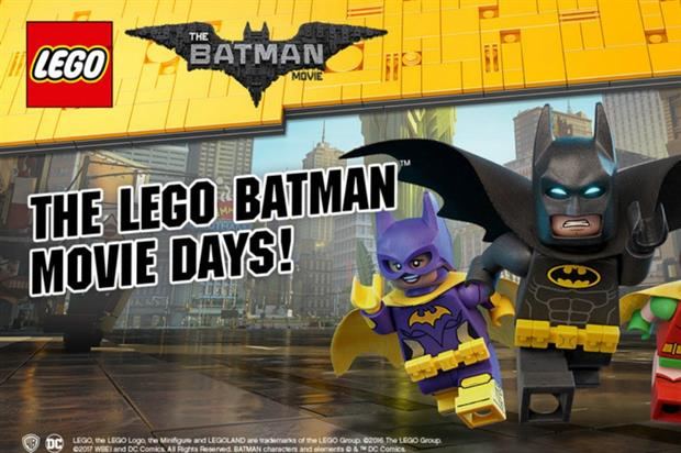 Legoland to celebrate Lego Batman Movie with special event