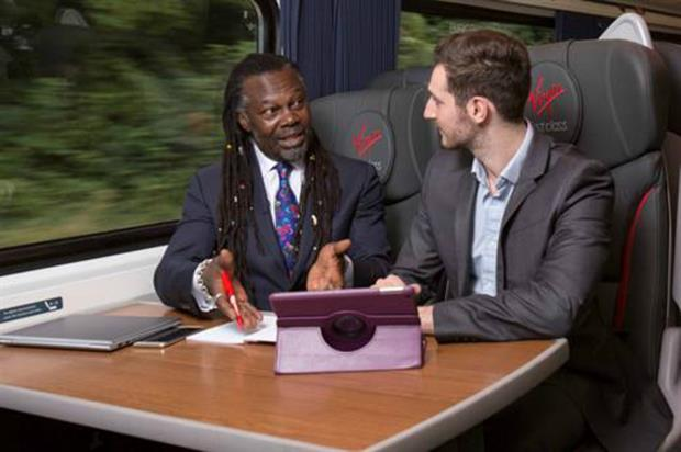 Virgin Trains: giving business advice on board
