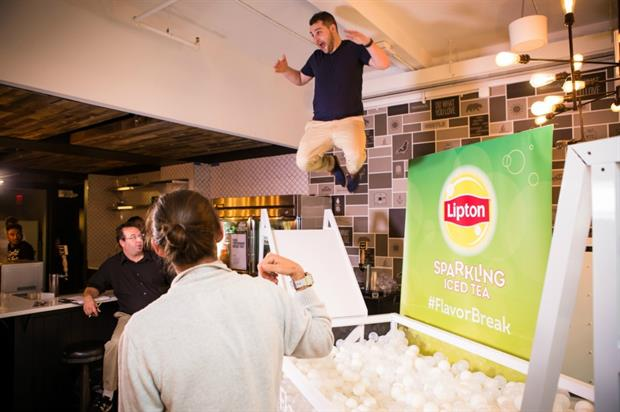 The activity is designed to invigorate office workers in the US