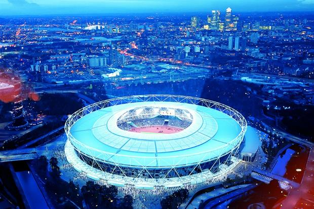 The Olympic Stadium has been undergoing renovations following its use in the London 2012 Olympics