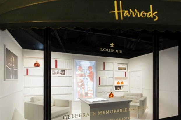 Louis XIII: tie-up with Harrods