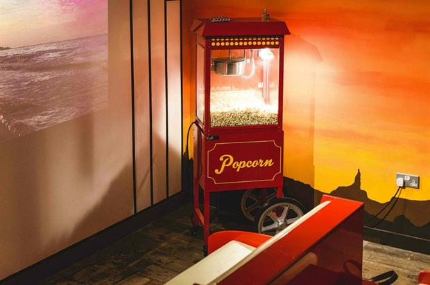 Lush open up pop-up cinema to promote new fragrances