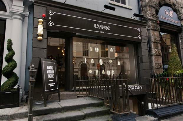 Lynx: 'find your magic' Dublin barbers