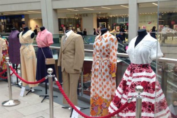 M&S: celebrating vintage fashion in Manchester