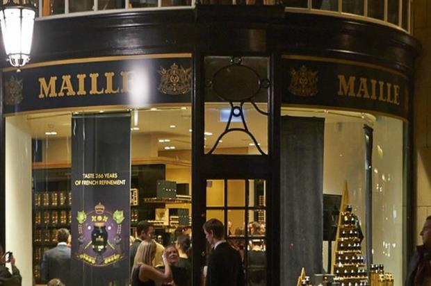 Maille: chutney experience
