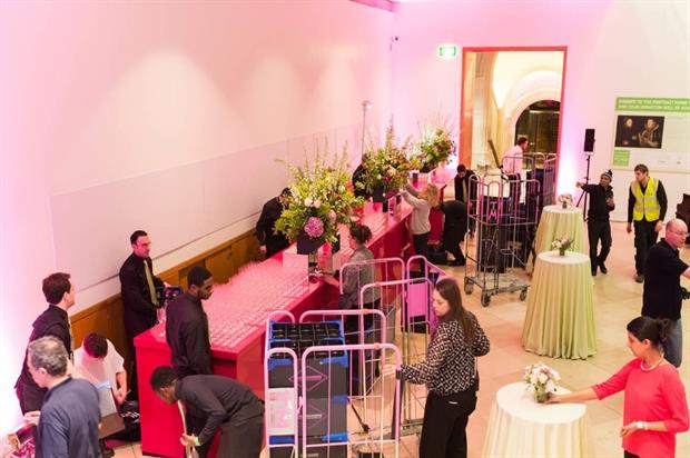 Mango Pie has been added to the National Portrait Gallery's approved event supplier list