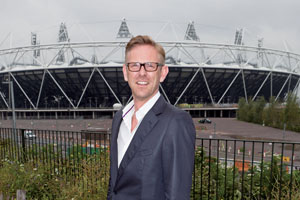 Martin Green was head of ceremonies for the London 2012 Games