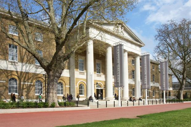 The Saatchi Gallery is currently home to Exhibitionism from The Rolling Stones (image credit: Matthew Booth)