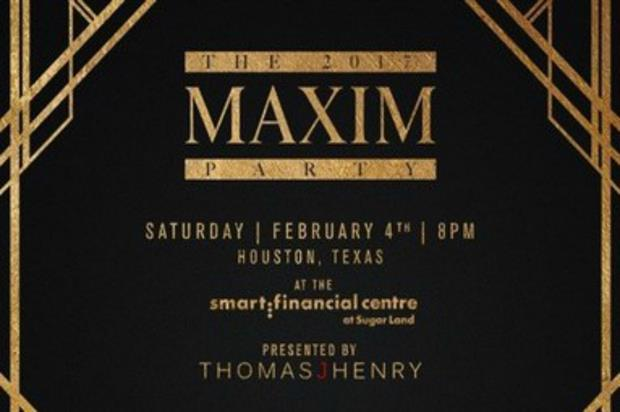 Maxim Party 2017 to mark the Super Bowl