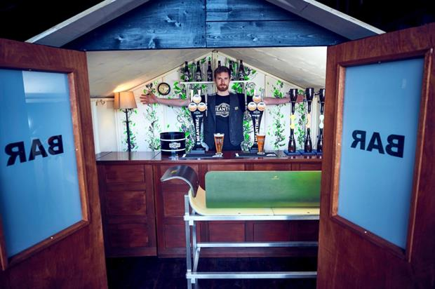 Britain's smallest craft beer bar - Meantime Beer