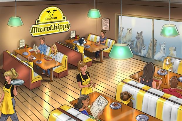 The MicroChippy will serve dog-friendly hot dogs while there will be signature dishes for human guests