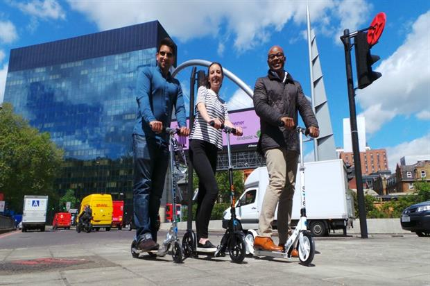 The link-up will see Micro Scooters join American Freshman's 2015 Big Yellow Bus Tour this summer