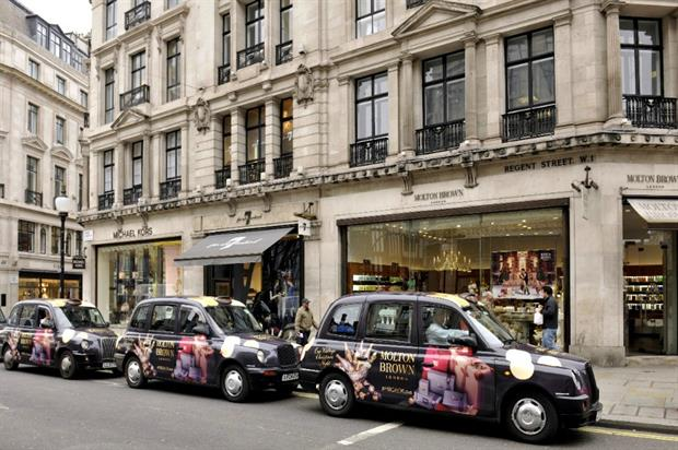 The 'Christmas Carriages' will mirror the scent of Molton Brown's festive collection