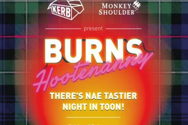 Monkey Shoulder and Kerb: Burns Night celebration