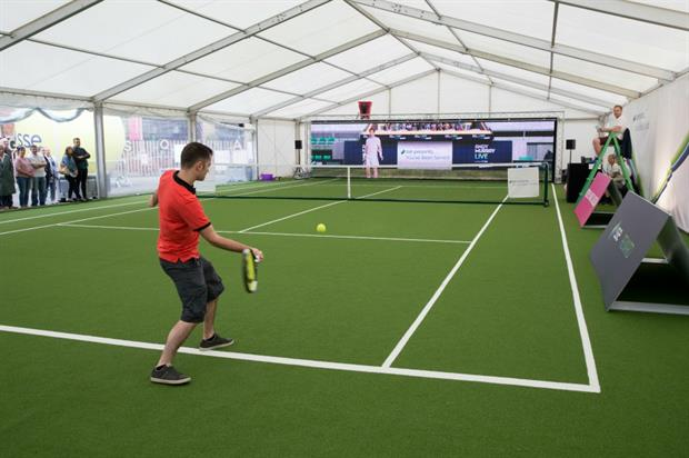 Tennis fans can play against Andy Murray in Glasgow